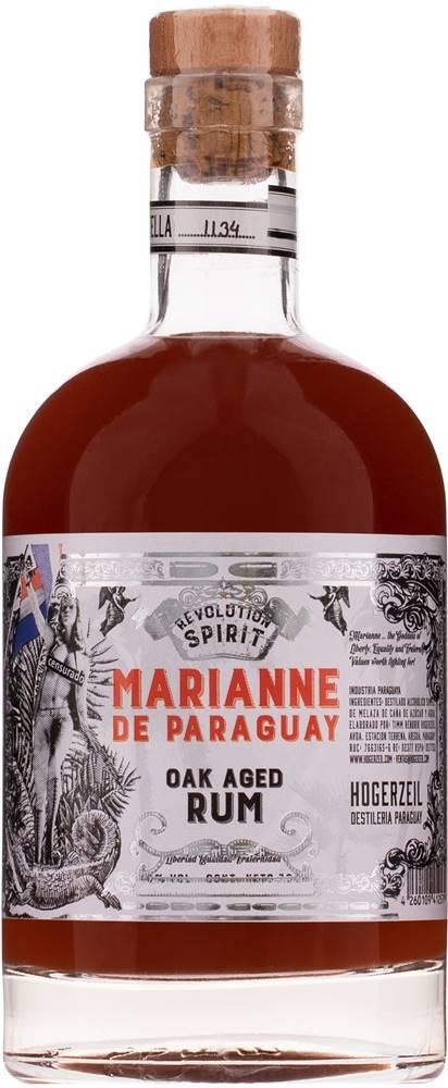 Hogerzeil Marianne de Paraguay Oak Aged Rum 40% 0,7l