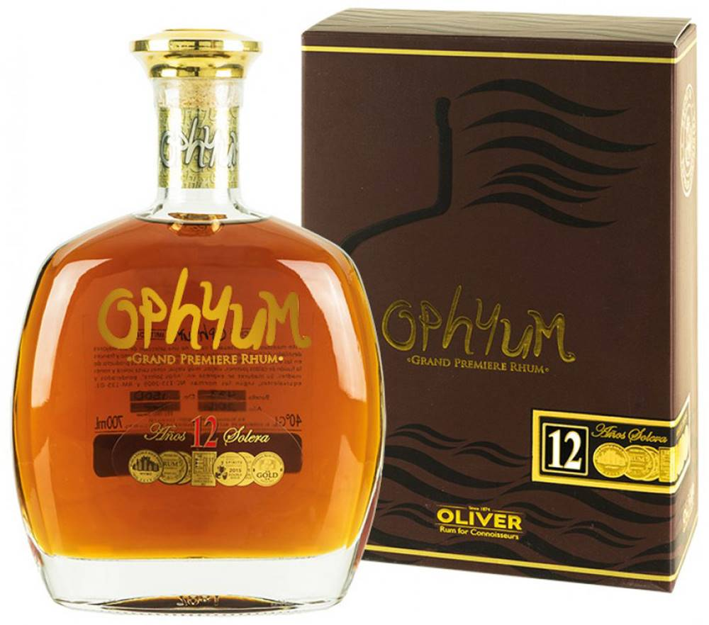 Ophyum Ophyum Grand Premiere Rhum 12 ročný 40% 0,7l
