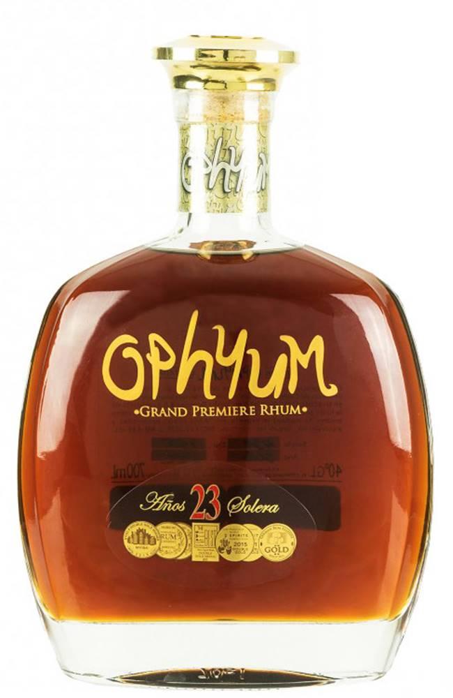 Ophyum Ophyum Grand Premiere Rhum 23 ročný 40% 0,7l