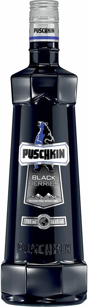 Puschkin Puschkin Black Berries 16,6% 0,7l