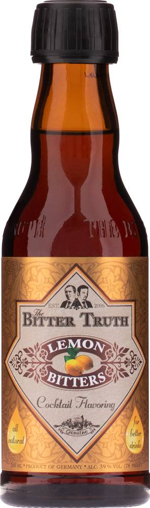 The Bitter Truth The Bitter Truth Lemon 39% 0,2l