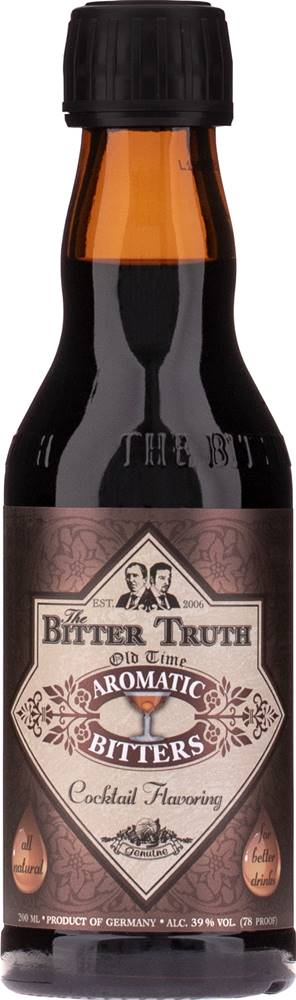 The Bitter Truth The Bitter Truth Old Time Aromatic 39% 0,2l