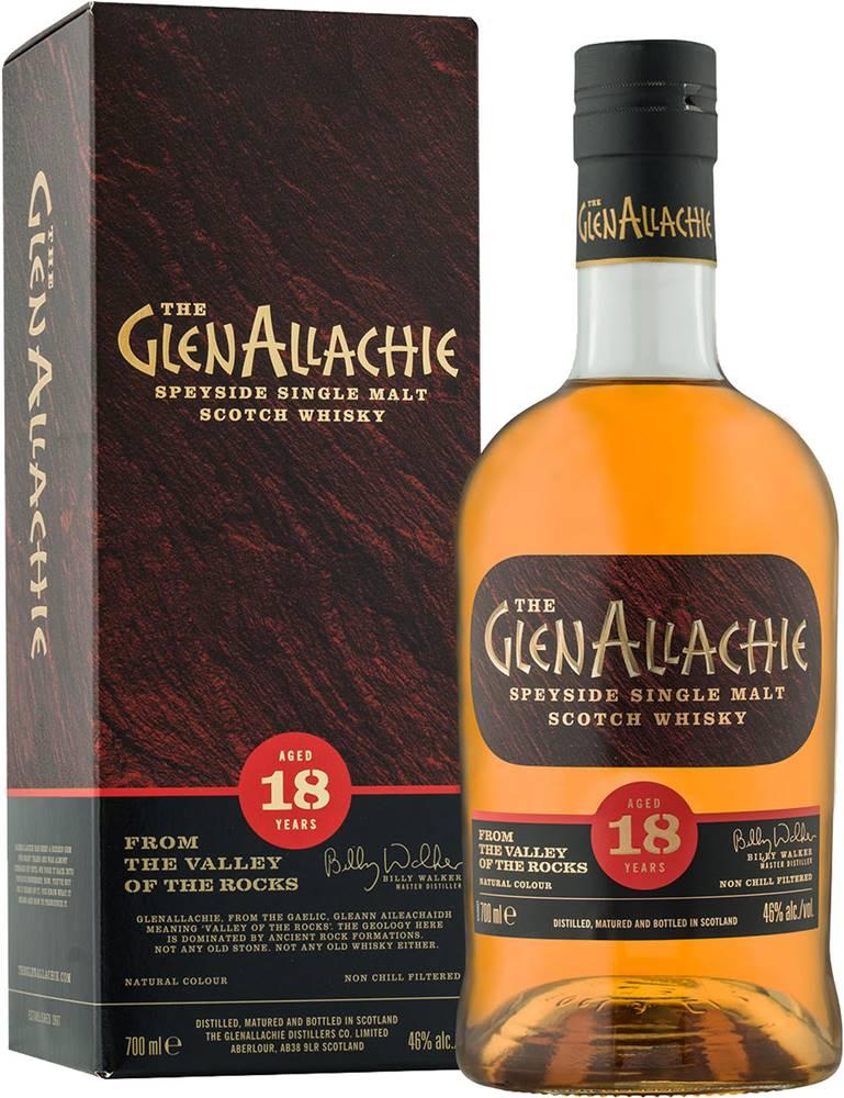 The GlenAllachie The GlenAllachie 18 ročná 46% 0,7l