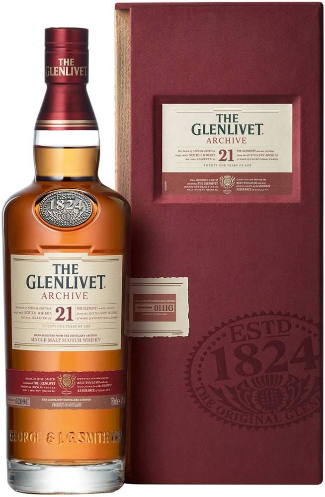 The Glenlivet The Glenlivet Archive 21 ročná 43% 0,7l