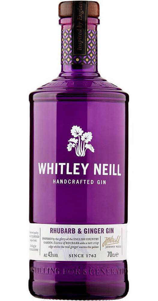 Whitley Neill Whitley Neill Rhubarb & Ginger Gin 43% 0,7l
