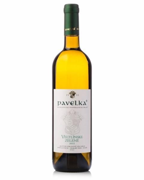 VPS Pavelka a syn Pavelka Veltlínske zelené neskorý zber víno biele suché 0,75l