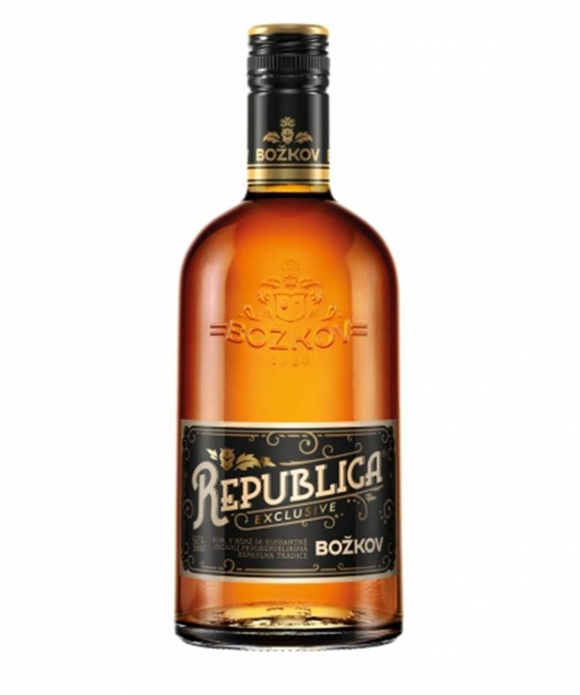 Stock Božkov Republica Exclusive 0,7l (38%)