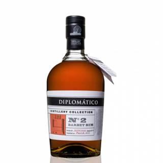 Diplomático Distillery Collection No.2 Barbet Column 0,7L (47%)