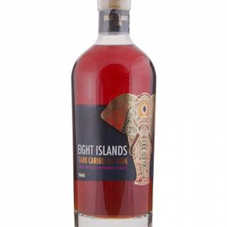 Eight Islands Dark Caribbean Rum Irish Whiskey Cask Finish 0,7L (40%)