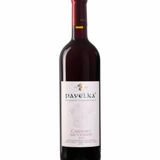 Pavelka Cabernet Sauvignon Víno červené suché 0,75L