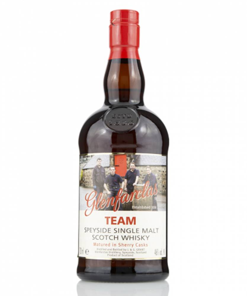 West Cork Distillers Glenfarclas Team The Legend of Speyside Whisky + GB 0,7L (46%)
