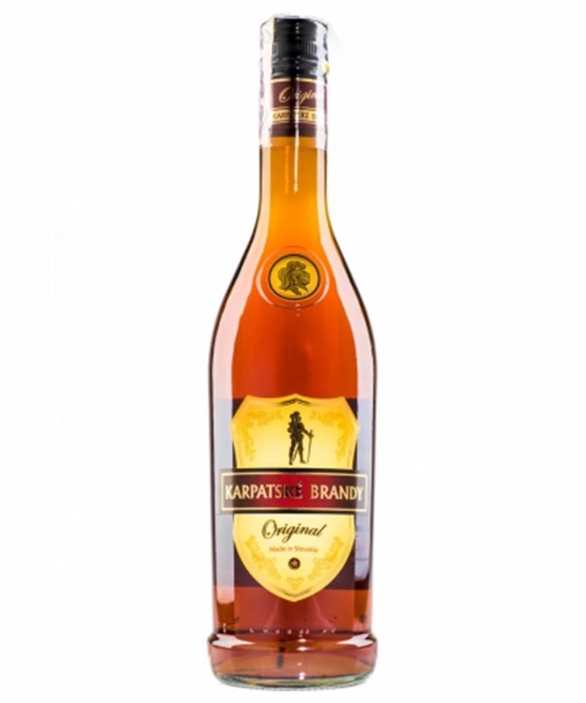 Karpatské Brandy Karpatské Brandy Originál 0,7l (36%)