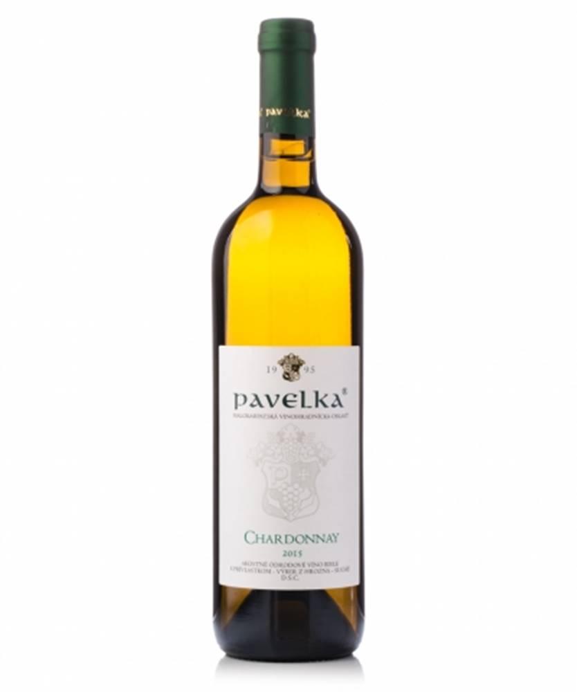 VPS Pavelka a syn Pavelka Chardonnay výber z hrozna 0,75l