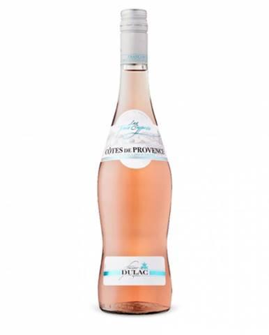 Víno ružové Lurton