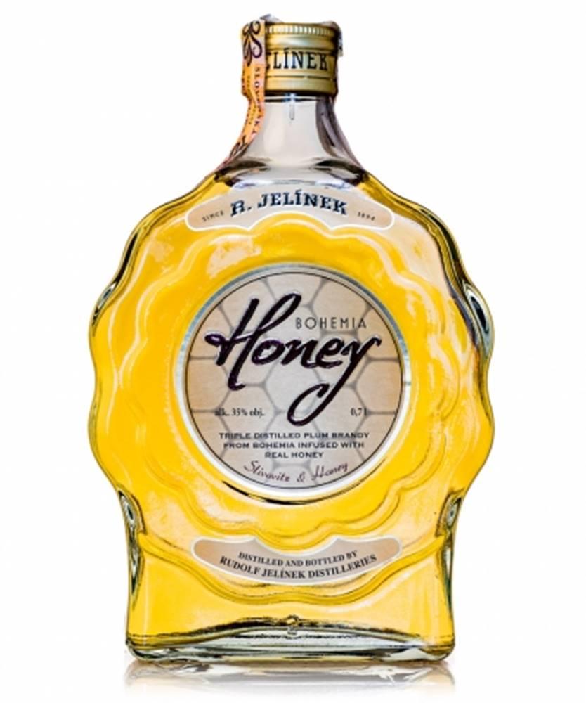 Rudolf Jelínek Bohemia Honey budík 0,7l (35%)
