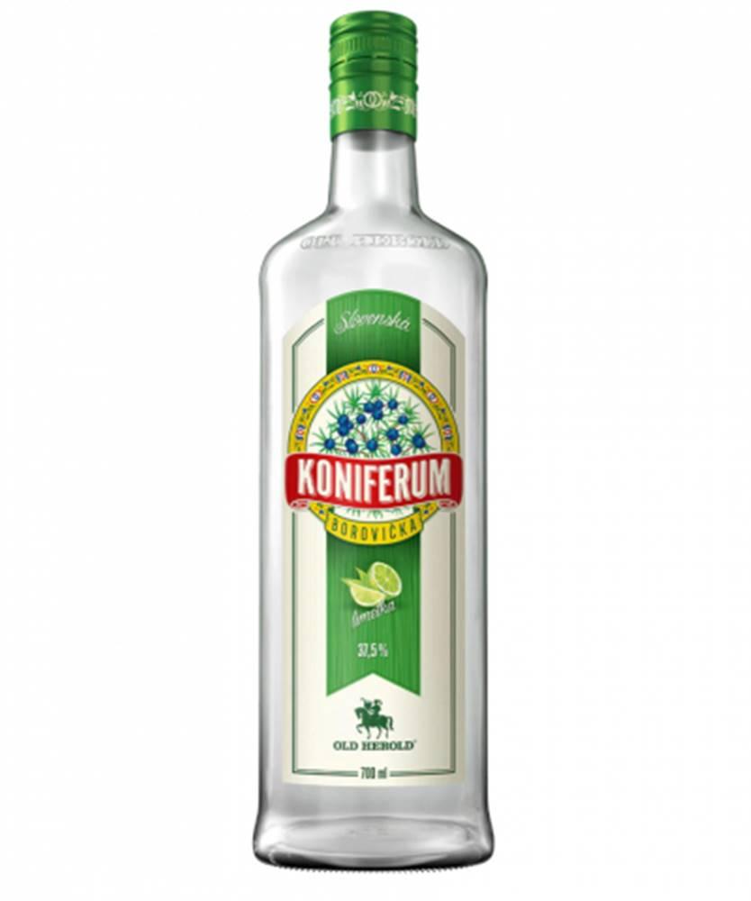 Old Herold Borovička Koniferum Limetka 0,7L (37,5%)