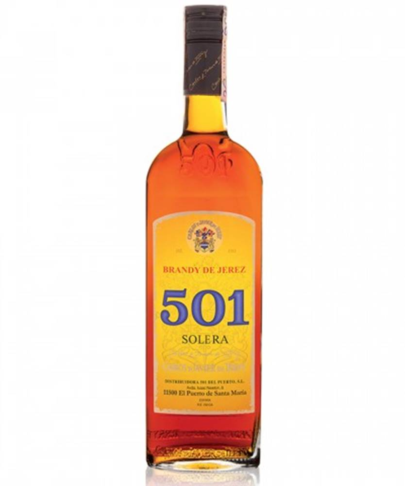 Santos Dumont Brandy Solera 501 0,7l (36%)
