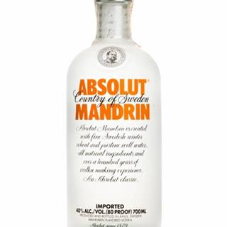 Absolut ABSOLUT Mandrin 0,7l (40%)