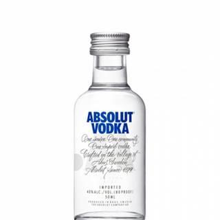 Absolut Vodka 0,05L (40%)