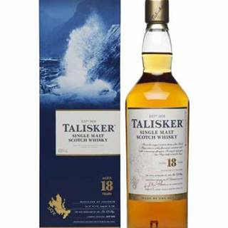 Talisker Single Malt Whisky 18Y + GB 0,7 l (45,8%)