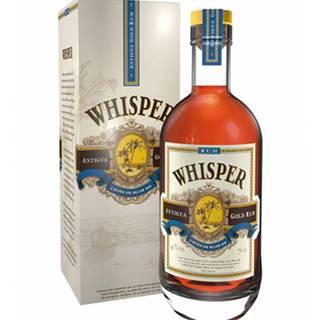 Whisper Antigua Gold Rum 0,7L (40%)