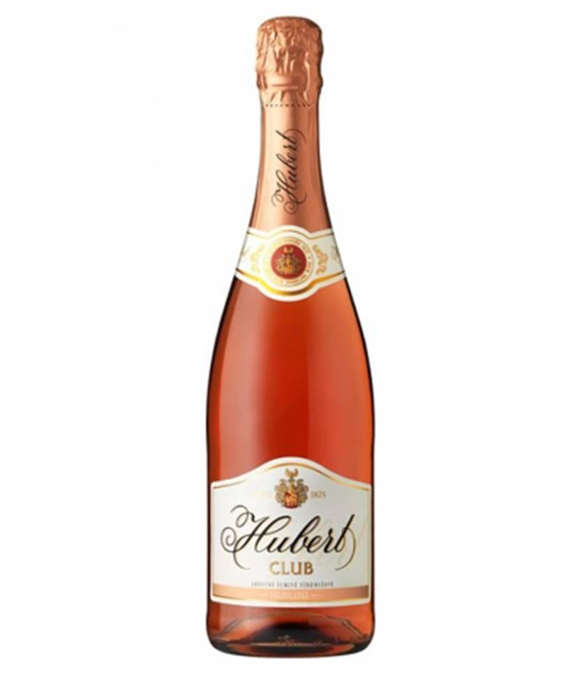 Hubert J.E., s.r.o Hubert Club ružové 0,75l (11,5%)