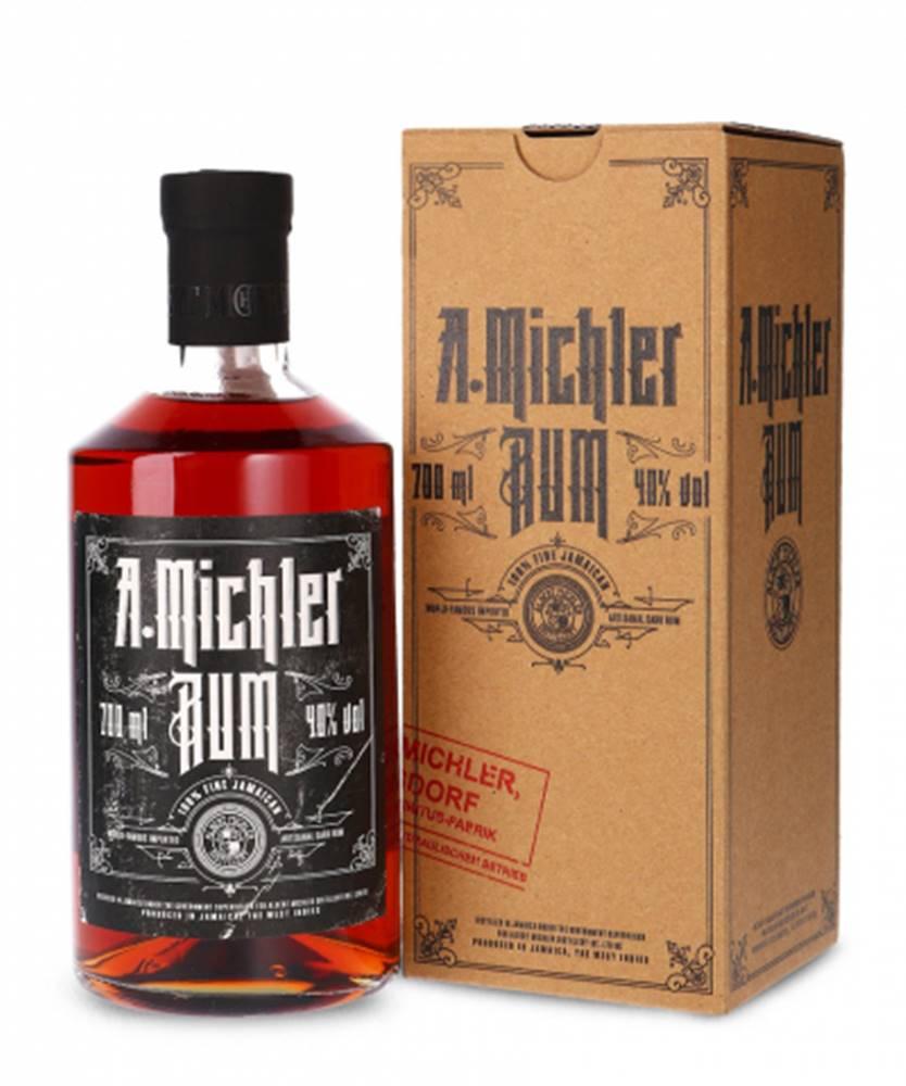 Albert Michel´s Distillery Michlers Rum Jamaican 0.7L (40%)