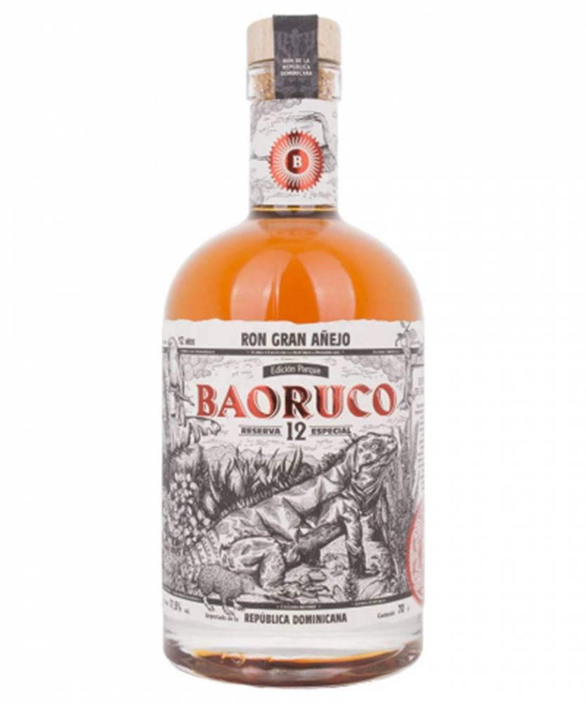Baoruco Ron Baoruco Gran Añejo 12YO Edición Parque 0,7L (37,5%)