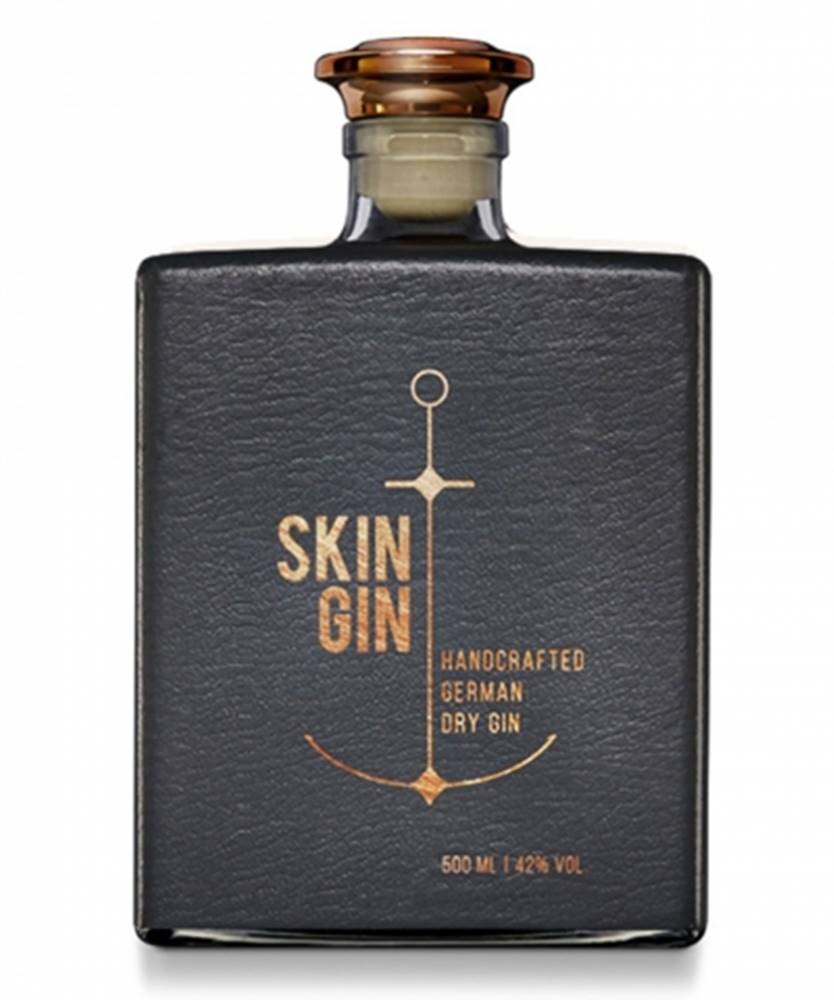 Ron de Jeremy Skin Gin Anthracite 0,5l (42%)