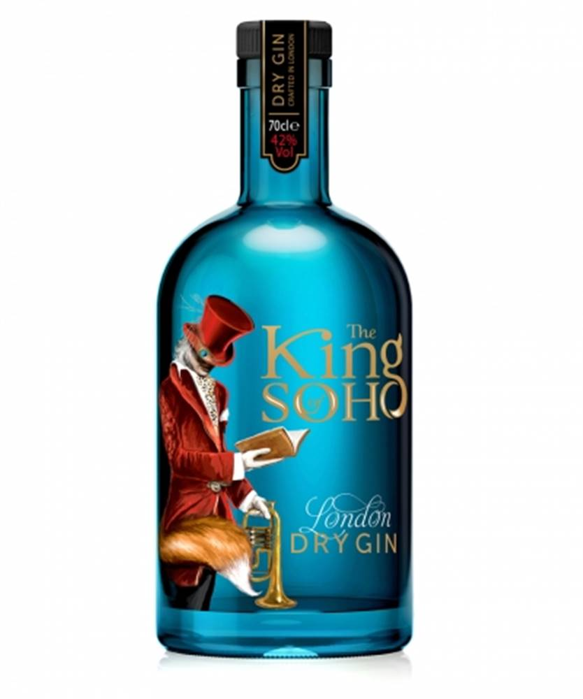 West and drinks The King of Soho London Dry Gin 0,7l (42%)