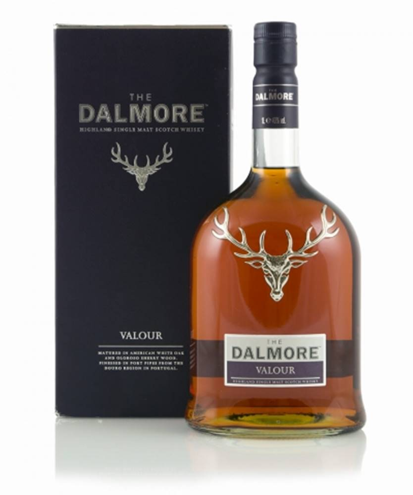 Dalmore Distillery Dalmore Valour + GB 1l (40%)