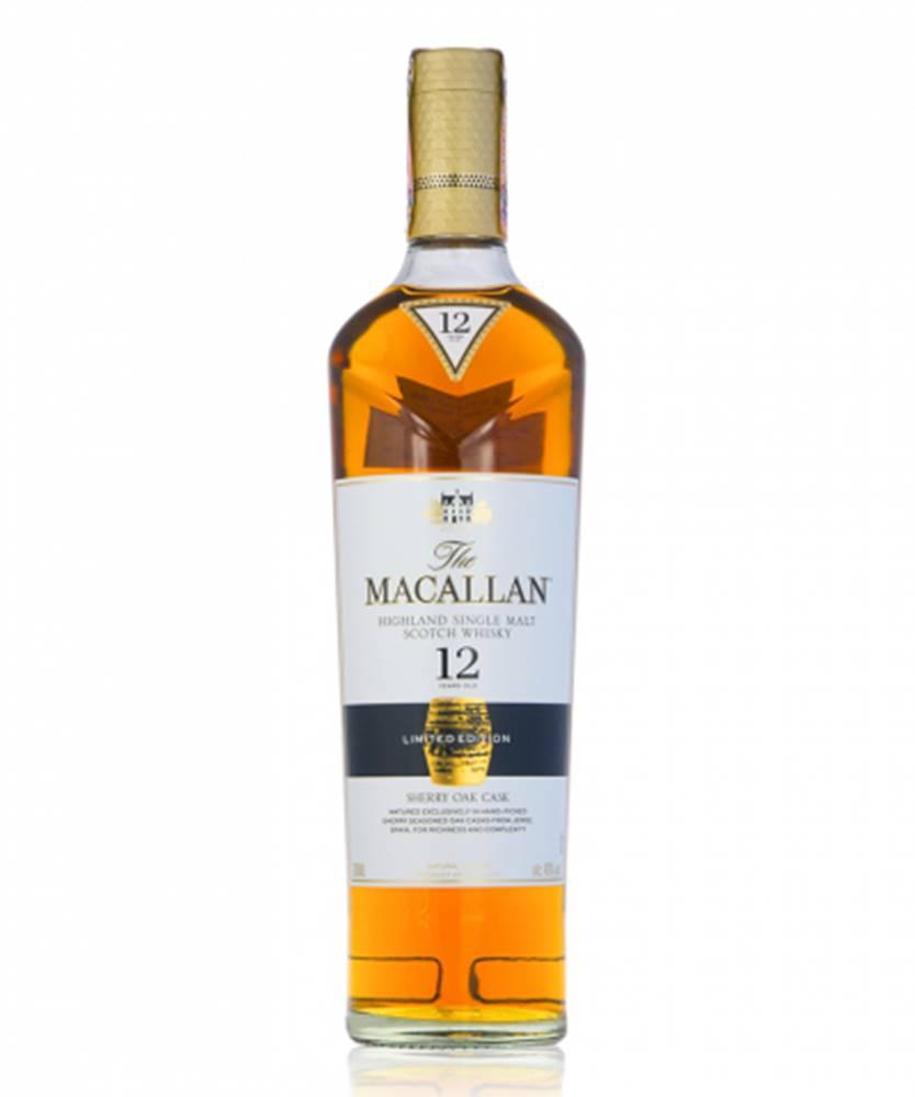 Macallan Macallan 12 YO Sherry Oak 0,7l (40%)