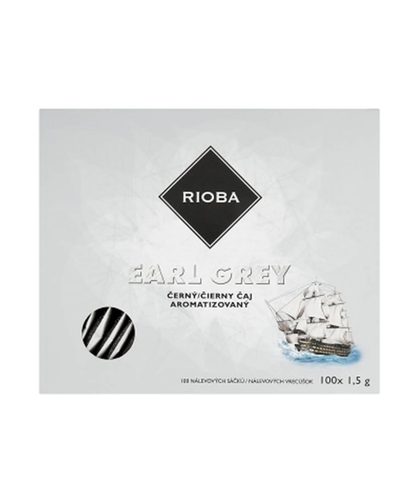 Teekanne Rioba Eearl grey čierny čaj 100x1,5g