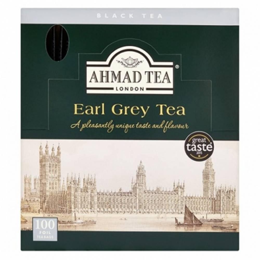 AHMAD TEA Ahmad Earl Grey čierny čaj alu sáčky 100 ks x 2 g