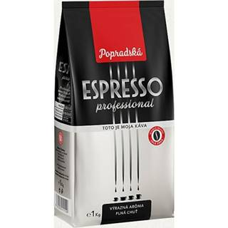 Káva Espresso Professional, BOP, zrnková, 1 kg popradská