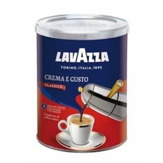 Lavazza Crema & Gusto dóza mletá káva 250 g