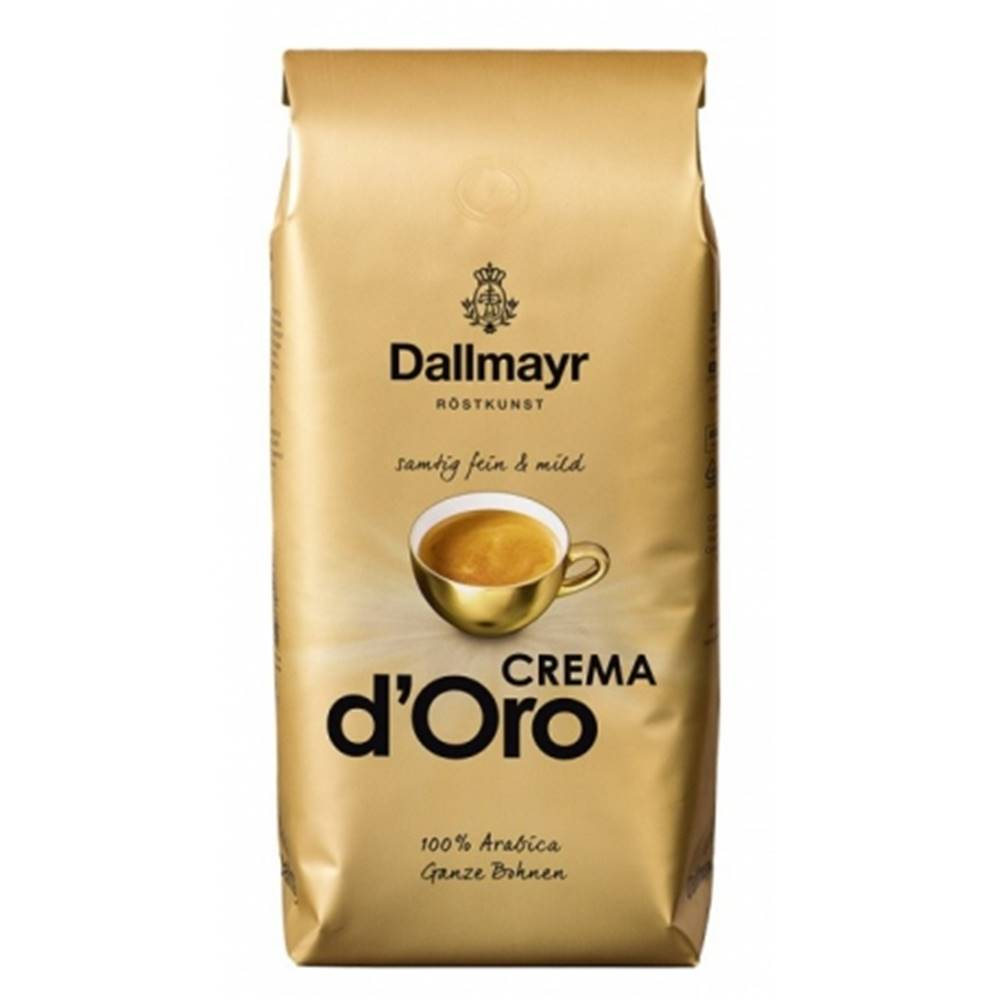 DALLMAYR Dallmayr Crema d´Oro zrnková káva 1 kg
