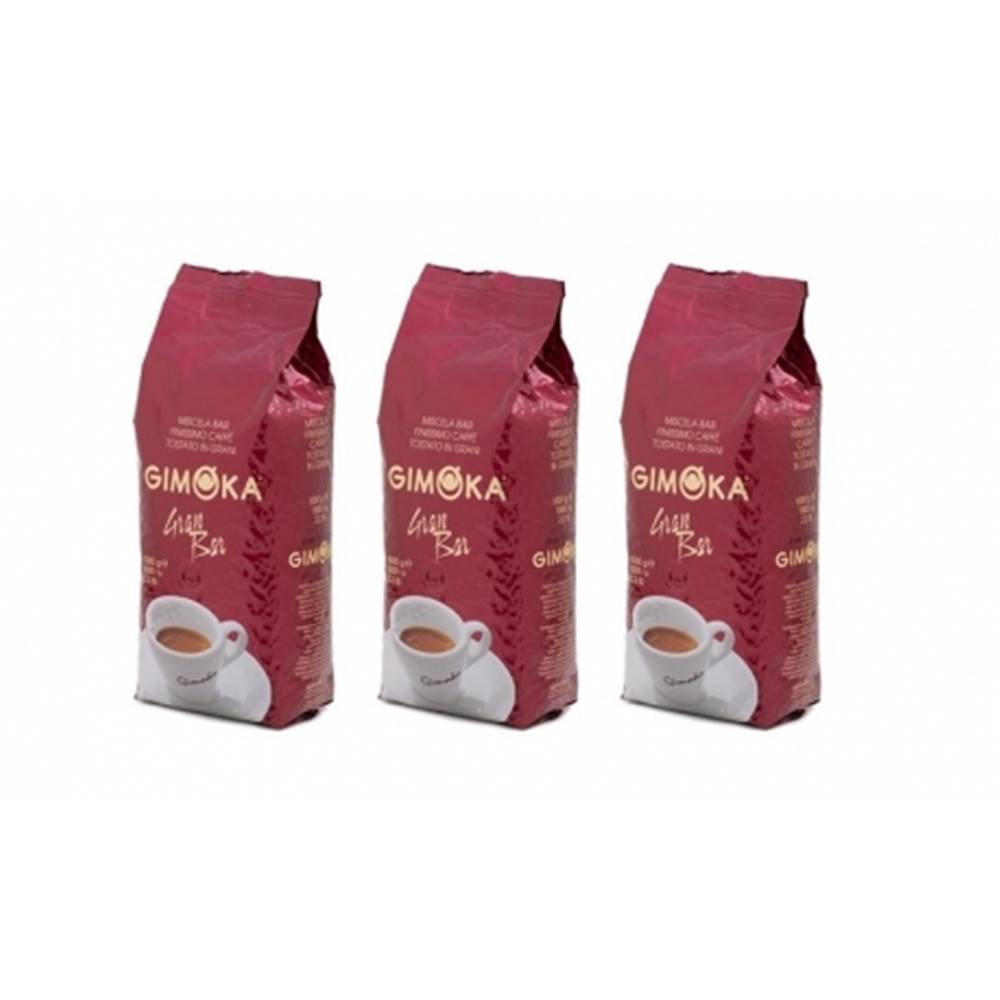 LUCAFFÉ Gimoka Gran Bar zrnková káva 3 x 1 kg