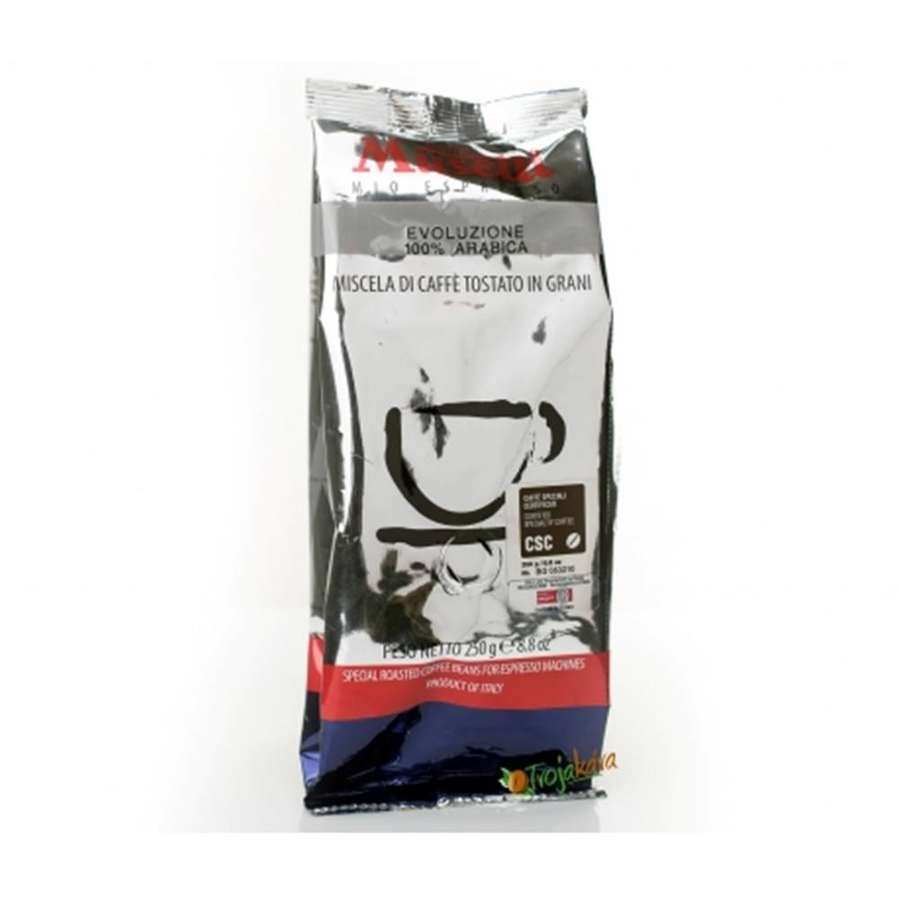 MUSETTI Musetti káva EVOLUZIONE 100% Arabica zrnková 250 g