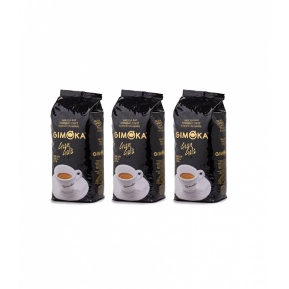 LUCAFFÉ Gimoka Gran Gala zrnková káva 3 x 1 kg