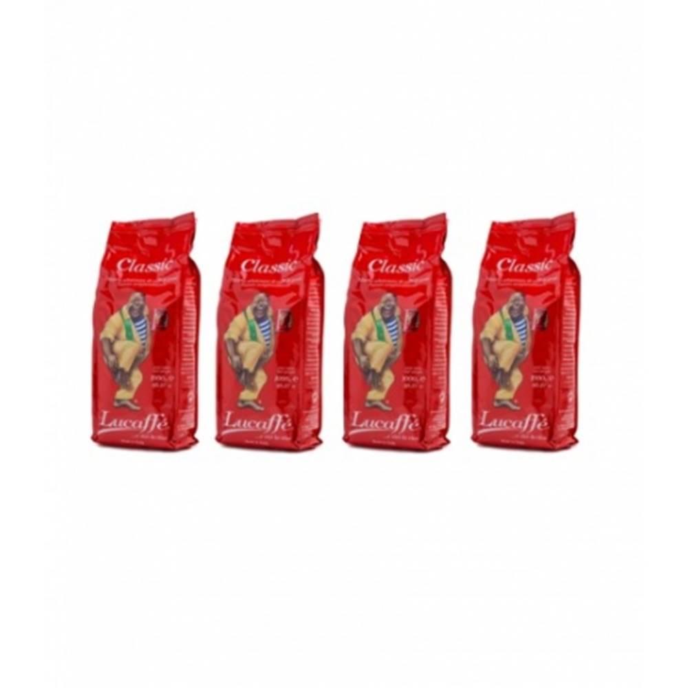LUCAFFÉ Lucaffé Classic zrnková káva 4 x 1 kg