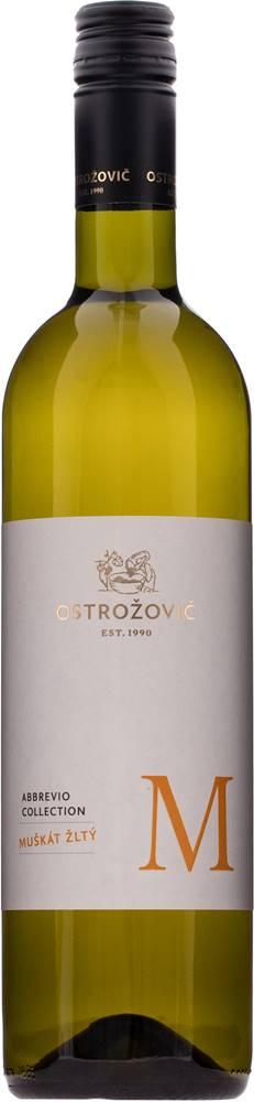 Ostrožovič J&J Ostrožovič Abbrevio Muškát žltý 12,5% 0,75l