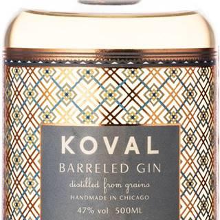 Koval Barreled Gin 47% 0,5l