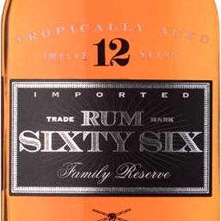Sixty Six Rum 12 ročný  40% 0,7l