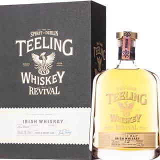 Teeling 12 ročná - The Revival V Cognac & Brandy Casks 46% 0,7l