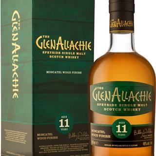 The GlenAllachie 11 ročná Moscatel Wood Finish 48% 0,7l