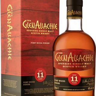 The GlenAllachie 11 ročná Port Wood Finish 48% 0,7l