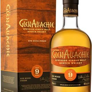 The GlenAllachie 9 ročná Rye Wood Finish 48% 0,7l