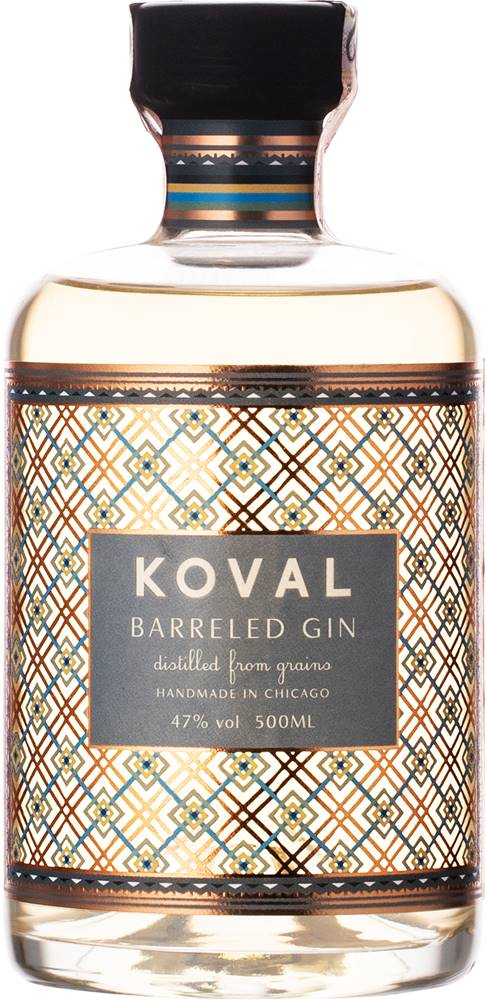 Koval Koval Barreled Gin 47% 0,5l