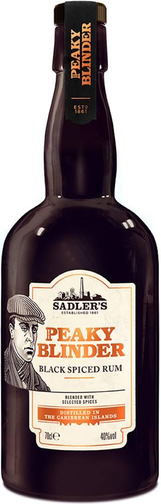 Peaky Blinder Peaky Blinder Black Spiced Rum 40% 0,7l